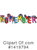 Month Clipart #1419794