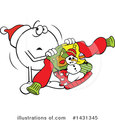 Christmas Sweater Clipart #1431345 by Johnny Sajem