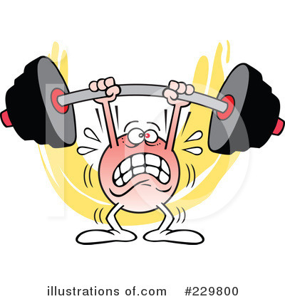 Weightlifting Clipart #229800 by Johnny Sajem