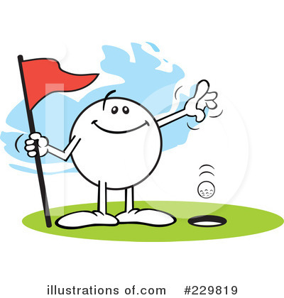 Golfing Clipart #229819 by Johnny Sajem