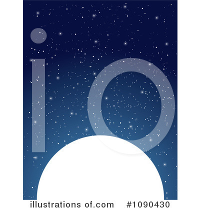 Royalty-Free (RF) Moon Clipart Illustration by Maria Bell - Stock Sample #1090430