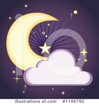 Cloud Clipart #1106792 by Amanda Kate