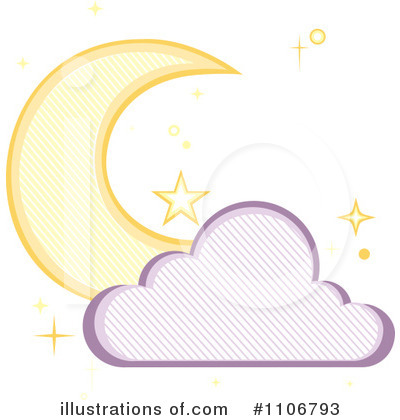 Cloud Clipart #1106793 by Amanda Kate