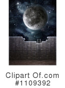 Royalty-Free (RF) Moon Clipart Illustration #1109392
