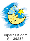 Moon Clipart #1139237 by Johnny Sajem
