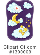 Moon Clipart #1300009 by BNP Design Studio