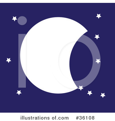 Moon Clipart #36108 by Maria Bell