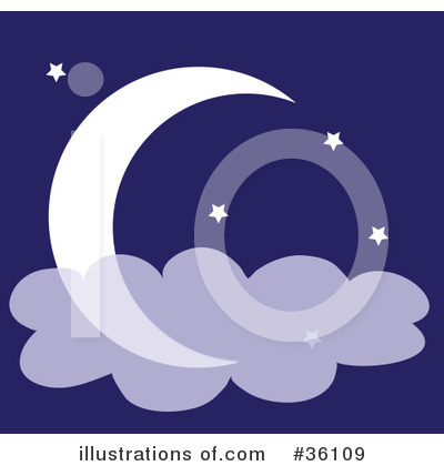 Moon Clipart #36109 by Maria Bell