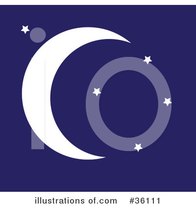 Moon Clipart #36111 by Maria Bell