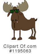 Moose Clipart #1195063 by djart