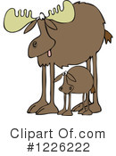 Moose Clipart #1226222 by djart