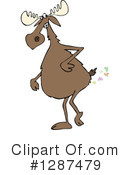 Moose Clipart #1287479 by djart