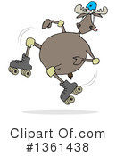 Moose Clipart #1361438 by djart