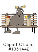 Moose Clipart #1361442 by djart
