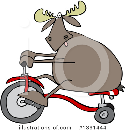 Bicycle Clipart #1361444 by djart