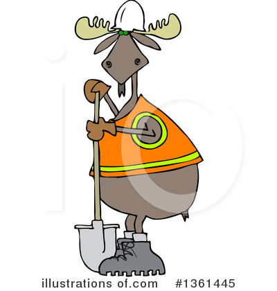 Moose Clipart #1361445 by djart