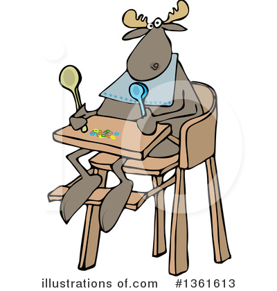 Moose Clipart #1361613 by djart