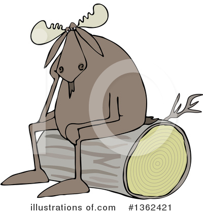 Moose Clipart #1362421 by djart
