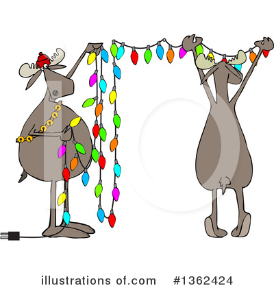 Moose Clipart #1362424 by djart