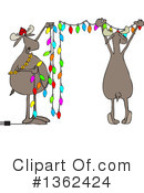 Royalty-Free (RF) Moose Clipart Illustration #1362424