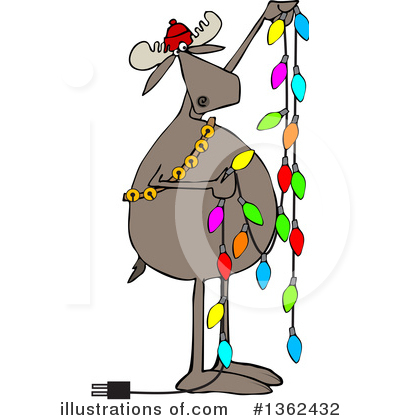 Moose Clipart #1362432 by djart