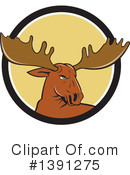 Moose Clipart #1391275