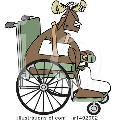 Wheelchair Clipart #1402902 by djart