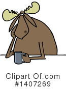 Moose Clipart #1407269