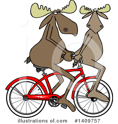 Bicycle Clipart #1409757 by djart