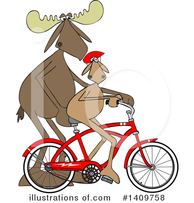 Bicycle Clipart #1409758 by djart
