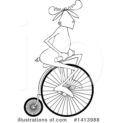Bicycle Clipart #1413988 by djart