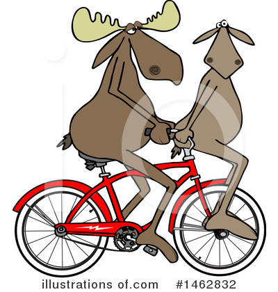 Bicycle Clipart #1462832 by djart