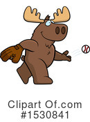 Moose Clipart #1530841 by Cory Thoman