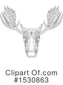Moose Clipart #1530863