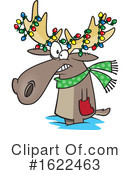 Moose Clipart #1622463 by toonaday
