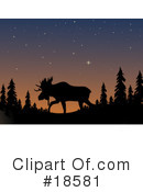Moose Clipart #18581