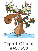 Moose Clipart #437598 by toonaday