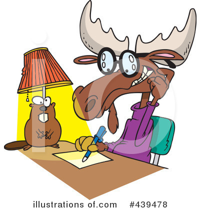 Moose Clipart #439478 by toonaday