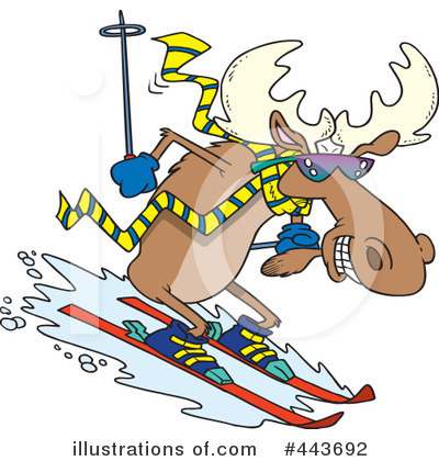 Moose Clipart #443692 by toonaday