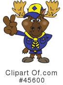 Moose Clipart #45600