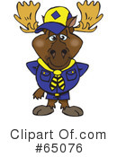 Moose Clipart #65076