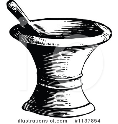 Mortar And Pestle Clipart #1137854 by Prawny Vintage