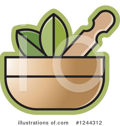 Mortar And Pestle Clipart #1244312 by Lal Perera