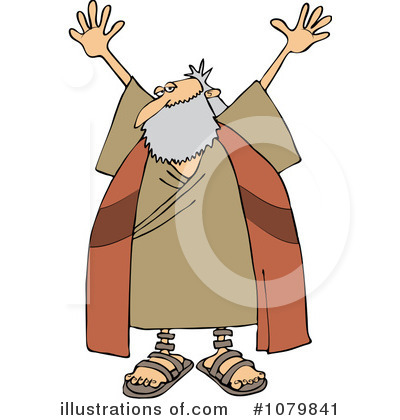 Moses Clipart #1079841 by djart