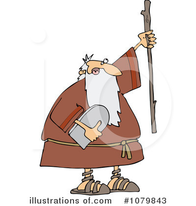 Moses Clipart #1079843 by djart