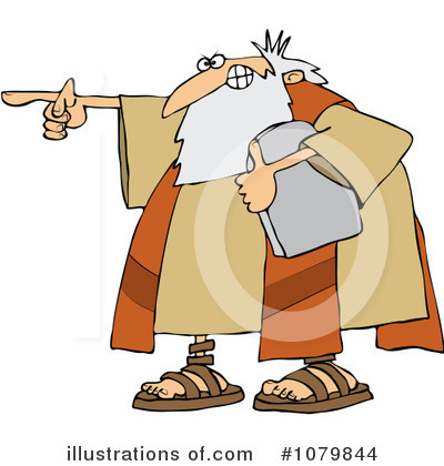 Moses Clipart #1079844 by djart