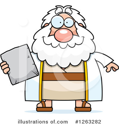 Moses Clipart #1263282 by Cory Thoman