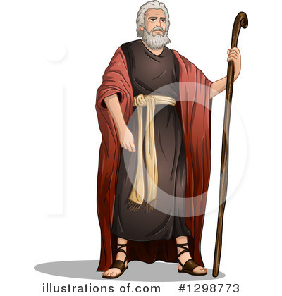 Moses Clipart #1298773 by Liron Peer