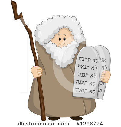 Moses Clipart #1298774 by Liron Peer