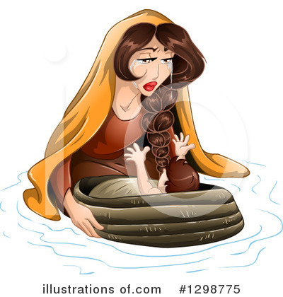 Moses Clipart #1298775 by Liron Peer